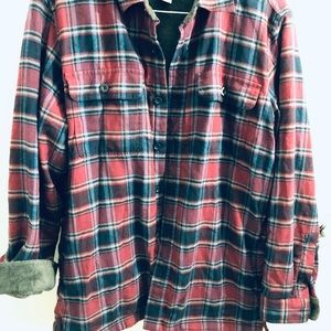 Other - Ll Bean flannel lined shirt.